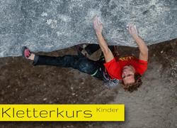 Kletterkurs-Kinder
