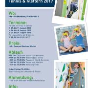 Tennis Kletter Sport Camp